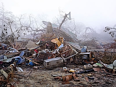 Remains of a home, Ninth Ward neighborhood, New Orleans