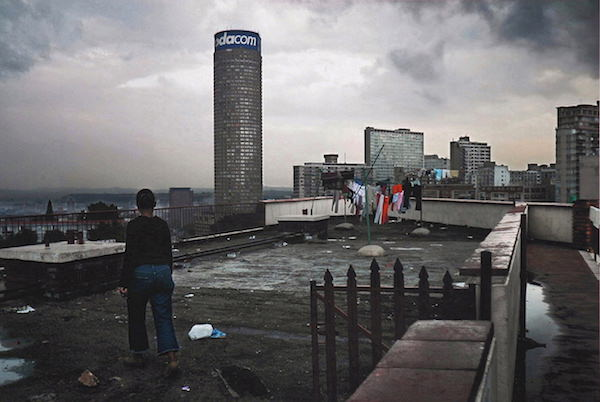 Jo'burg: Al's Tower, a Block of Flats on Harrow Road, Berea, Overlooking the Ponte Building, 2004
