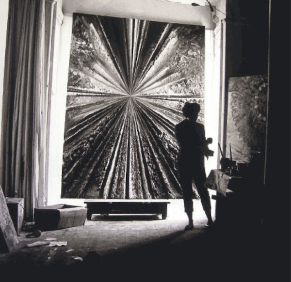 photo of jay defeo working on the rose