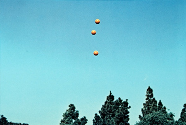 John Baldessari Three Balls in the Air