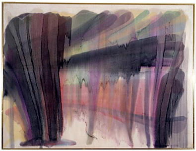 Untitled (Morris Louis, 1954)