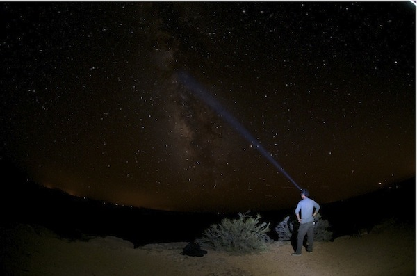 photo of sunny measuring the milky way