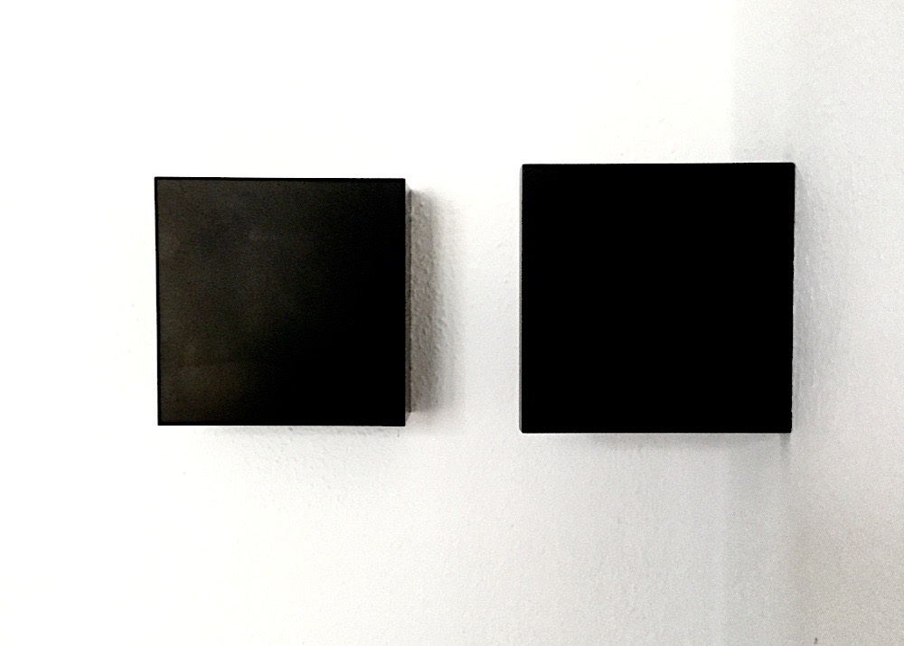 Susan York Composition Two Black Squares Front Image