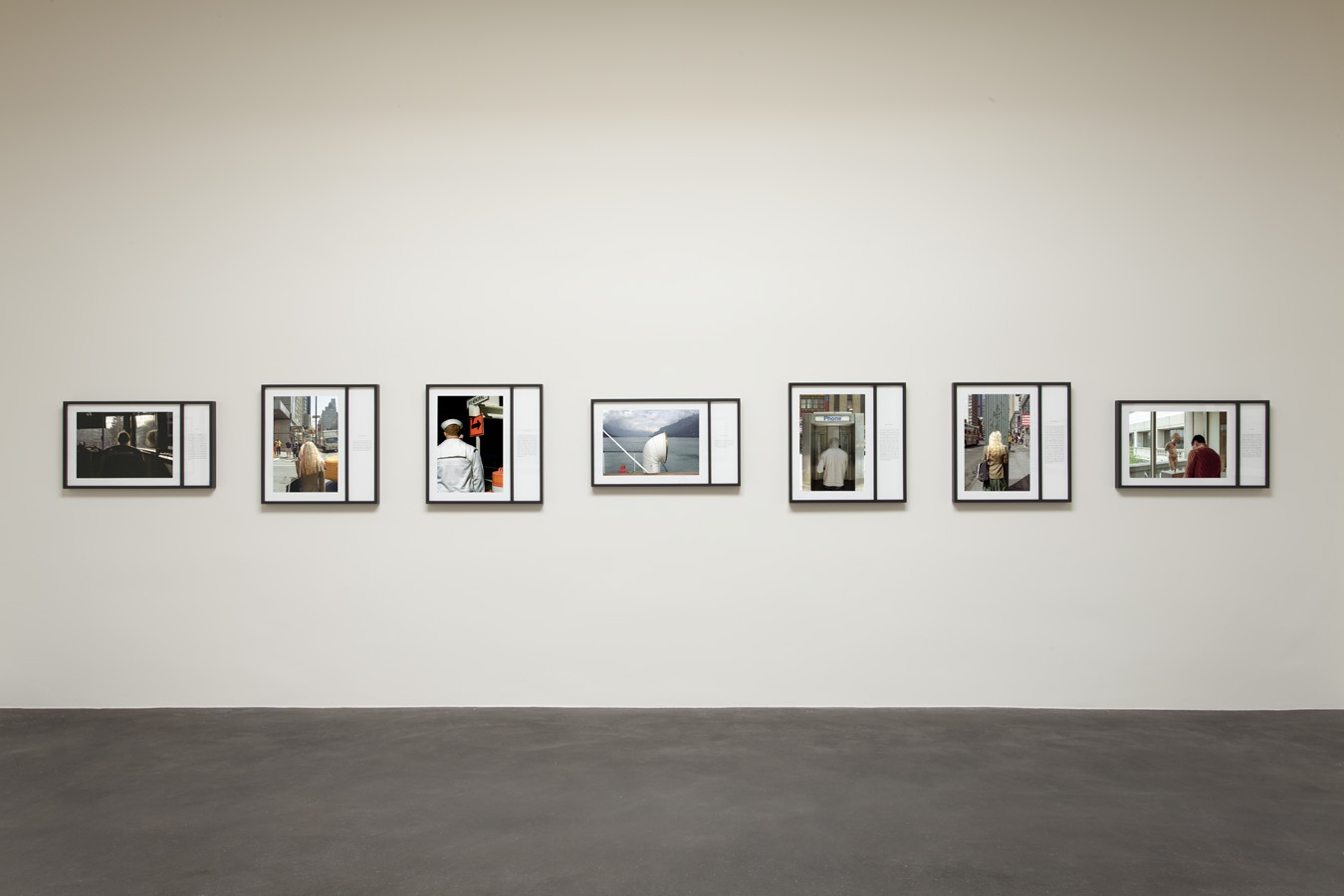 Installation view,Teju Cole: Blind Spot, Lannan Foundation. Photo: Addison Doty