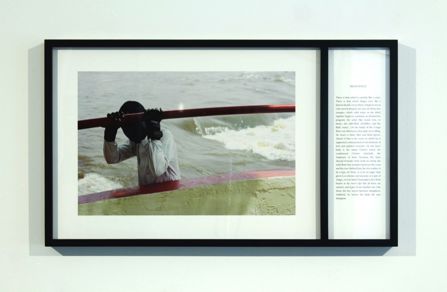Teju Cole Brazzaville February 2013 Framed With Text