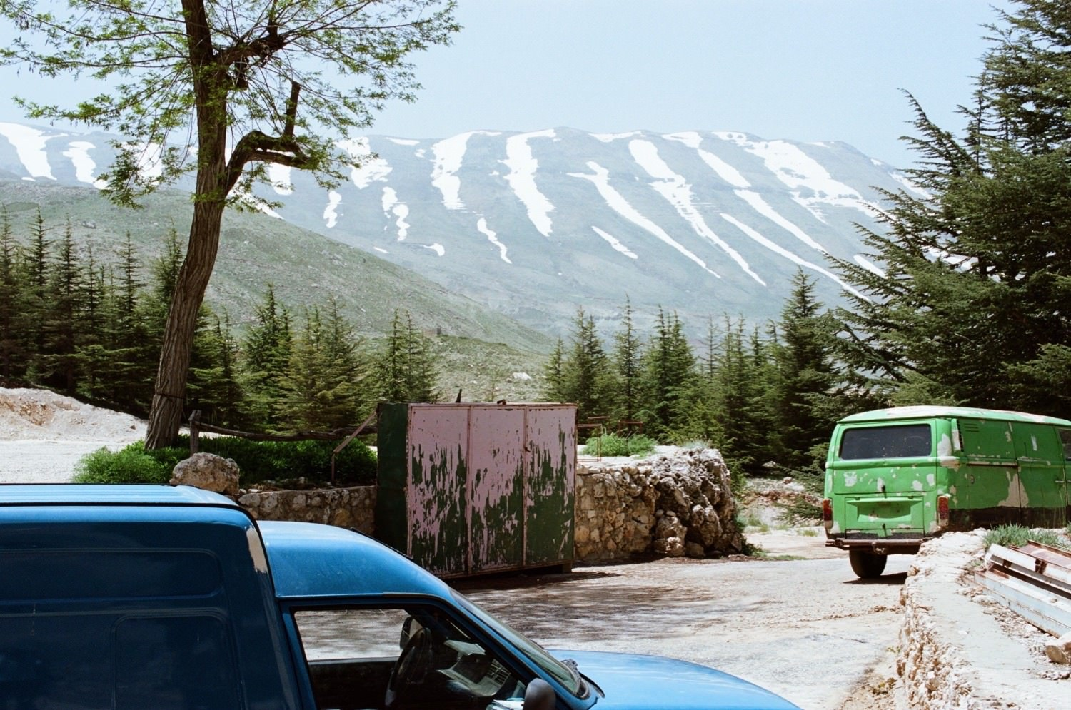 The Forest of the Cedars of God, May 2016 Archival pigment print with accompanying textDate: 2016/2018Size: 19 1/8 x 32 ½ inches (framed)Edition: 4 of 5