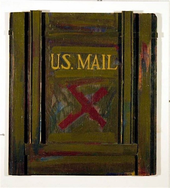 John Baldessari, X meets the U S Mail