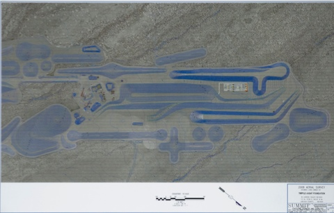 Aerial Photograph City Complex Showing Land Owned 2 Michael Heizer