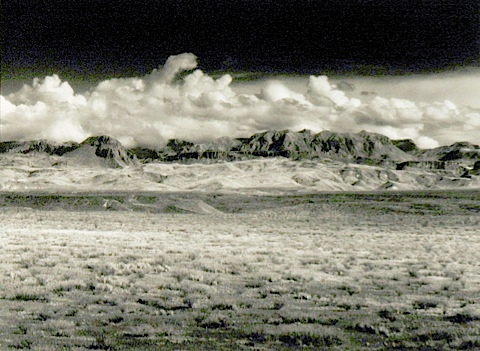 Chisos Mountains Midday 1999 Richard Fenker
