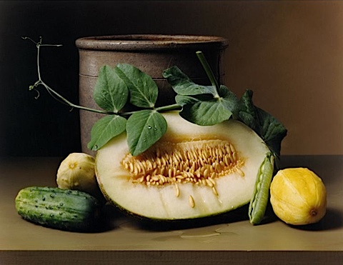 Early American Melons Peas Sharon Core