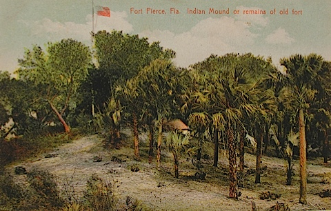 Fort Pierce Fla Indian Mound Or Remains Miles Coolidge