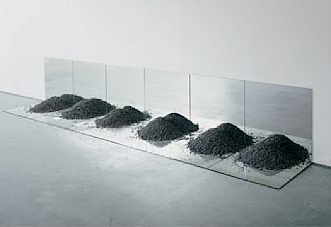Gravel Mirrors With Cracks And Dust Robert Smithson