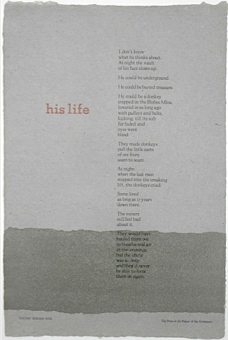 His Life By Naomi Shihab Nye From Word Art Press Palace Governors
