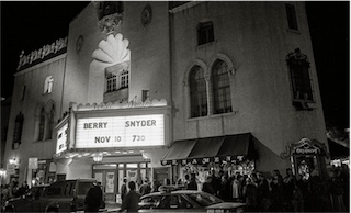 Lensic Theater Marquee Readings Conversations Author Don Usner