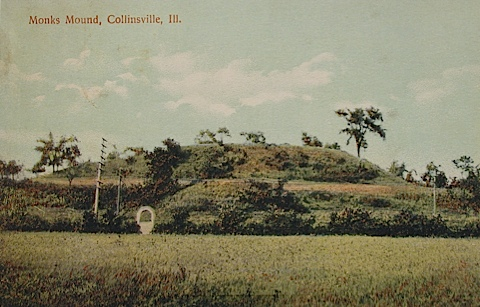 Monks Mound Collinsville Ill 2000 Miles Coolidge