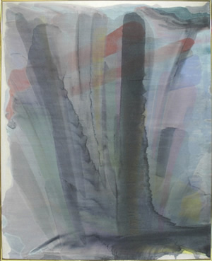 image of morris louis untitled 1954 acrylic