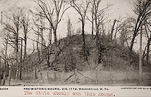 Pre Historic Mound Dis 1772 Miles Coolidge