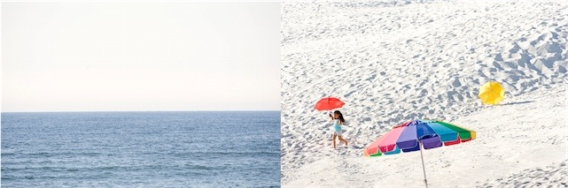 Renate Aller, Pascua: Easter Sunday, White Sands, New Mexico; Atlantic Ocean, 2012