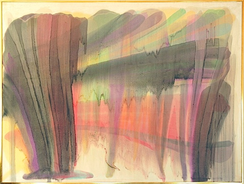 Untitled 1954 Db943 Morris Louis