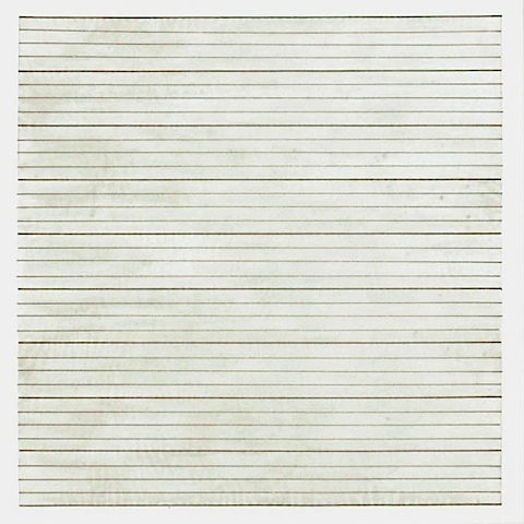 Untitled 1991 Stedelijk Museum Amsterdam Db 1834 Agnes Martin