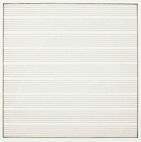 Untitled 1991 Stedelijk Museum Amsterdam Db 1835 Agnes Martin