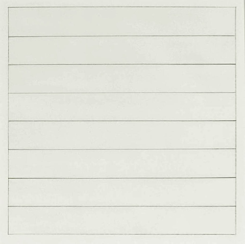 Untitled 1991 Stedelijk Museum Amsterdam Db 1836 Agnes Martin