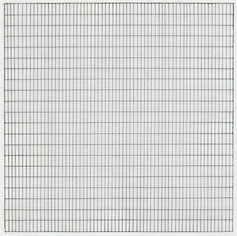 Untitled 1991 Stedelijk Museum Amsterdam Db 1842 Agnes Martin