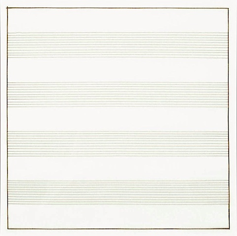 Untitled 1991 Stedelijk Museum Amsterdam Db980 Agnes Martin