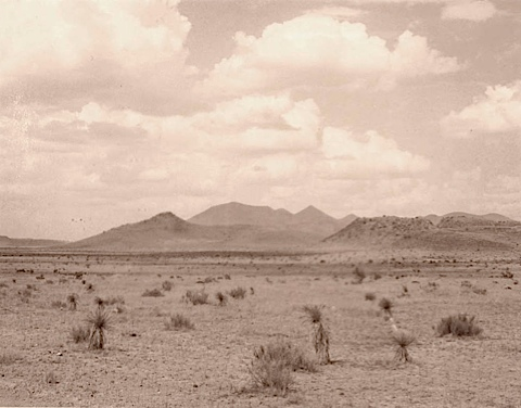 Untitled Marfa Landscape Series Db267 Alain Clement