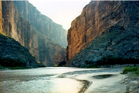 Untitled Santa Elena Canyon Big Bend Victoria Sambunaris