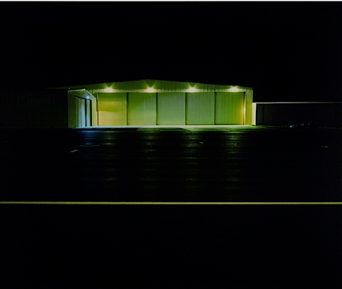 Yellow Lines, 2004 by david marshall
