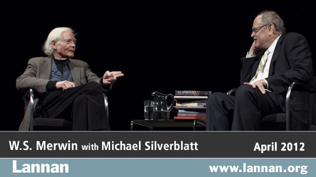 W.S. Merwin with Michael Silverblatt