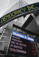 Sheldon Wolin: Democracy Inc. (book cover)
