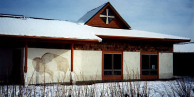 Nizipuhwahsin Center, Blackfeet language immersion school, Browning, Montana.