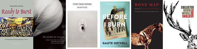 Lannan Literary grantee book covers 2014