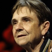 photo of Adrienne Rich with Carol Muske Dukes