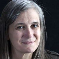 photo of Lewis Lapham with Amy Goodman