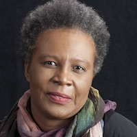 photo of Claudia Rankine with Saskia Hamilton