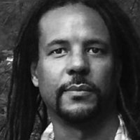photo of Colson Whitehead with Kevin Young