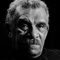 photo of Derek Walcott with Glyn Maxwell
