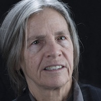 photo of Eileen Myles with Dan Chiasson