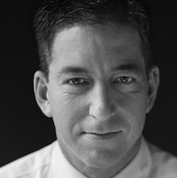 photo of Glenn Greenwald with Tom Engelhardt - Cancelled