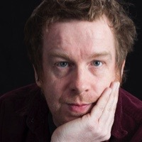 photo of Kevin Barry with Ethan Nosowsky