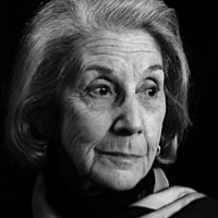 photo of Nadine Gordimer with Steve Wasserman