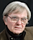 photo of Robert Coover with Michael Silverblatt