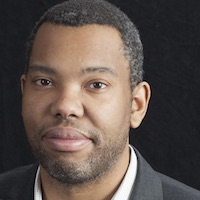 photo of Ta-Nehisi Coates with Michele Norris