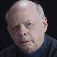 photo of Wallace Shawn with Michael Silverblatt