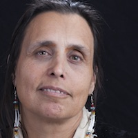 photo of Winona LaDuke with Mililani Trask